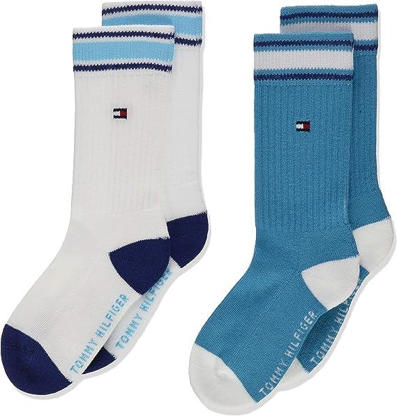 Tommy Hilfiger Boys TH Children Basic 2 Pack Calf Socks