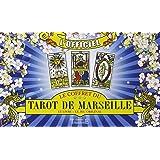 Coffret Tarot de Marseille -  Livre/Jeu de tarot - Jeu de Cartes