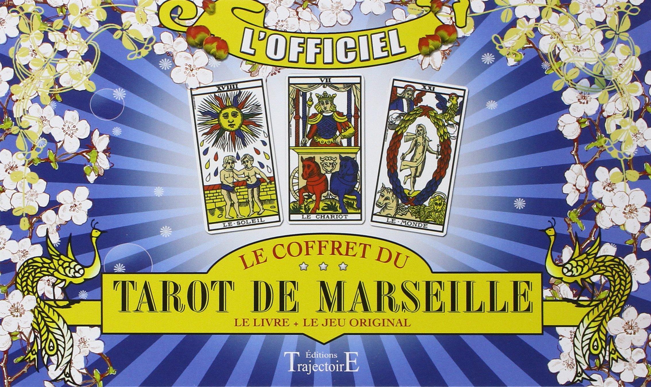 Amazon.fr - Grimaud - Coffret Tarot de Marseille - Livre + Jeu -  Cartomancie - Collectif - Livres 9e756f6568cb