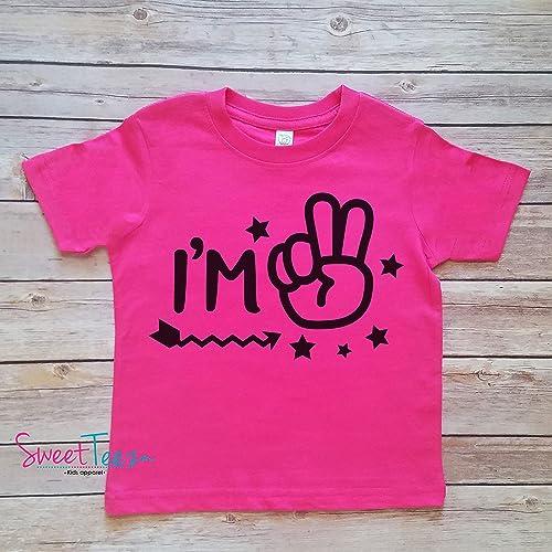 It/'s My Second 2nd Birthday Boys Childrens Kids T Shirts T-Shirt Top Arrow Star