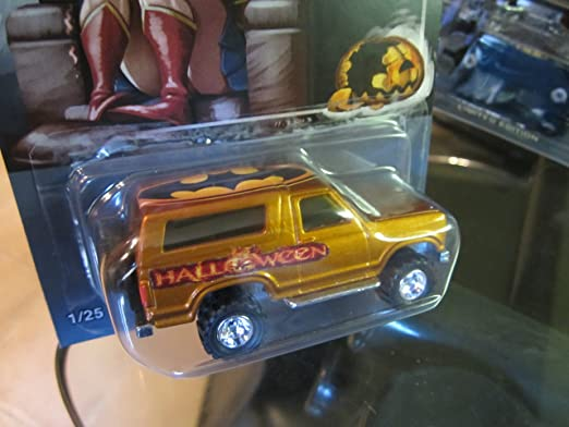 Amazon.com: Hot Wheels Custom 85 ruedas de goma Ford Bronco ...
