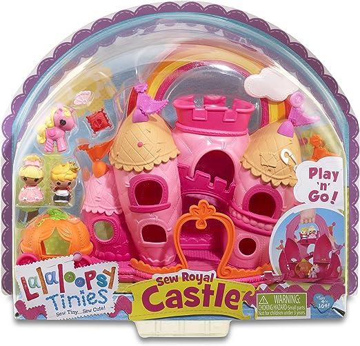 LALALOOPSY  sew royal castle lalaloopsy tinies play n go NEW