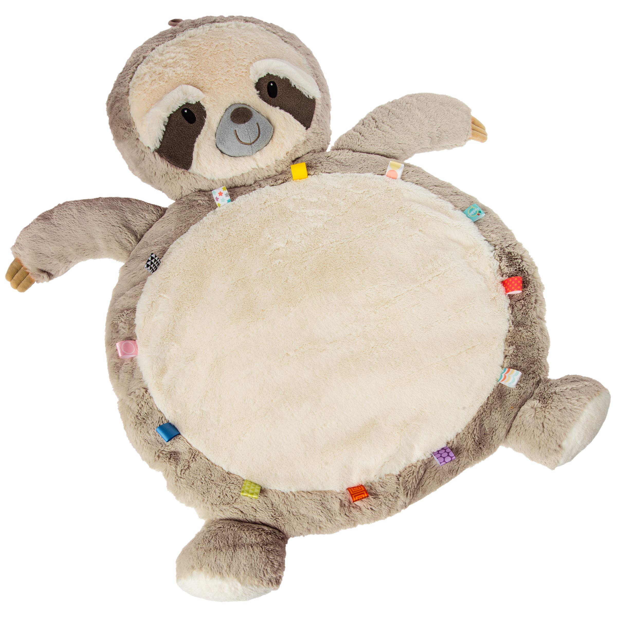 Taggies Super Soft Baby Mat, Molasses Sloth, 31 x 23-Inches