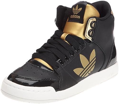 low priced aa3a5 f570b adidas Originals Midiru Court 2.0 Trefoil W, Sneaker Donna, Nero (Noir  (Black