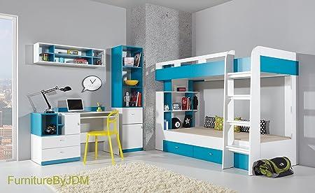High Sleeper/Bunk Bed Composition MOBI System 19. Kids/Children Furniture  Set.
