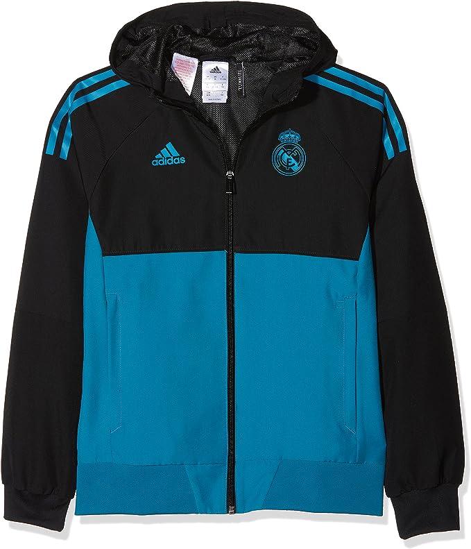 adidas EU Pre Jky Veste Real Madrid FC Saison 20172018 pour garçon