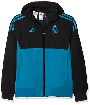 adidas Eu Pre Jky Chaqueta-Línea Real Madrid FC Temporada 2017 2018 ... c94f3b0de247d