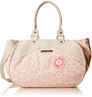 Petunia Pickle Bottom Wistful Weekender Diaper Bag in Blooming Brixham