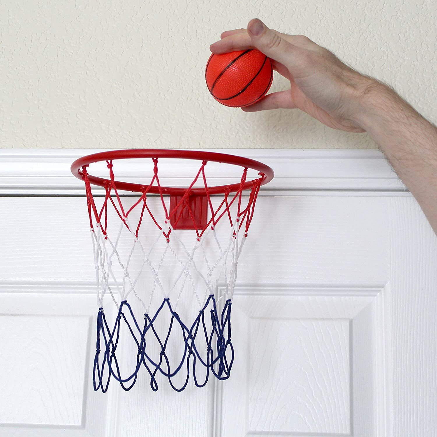 Sporting Goods Humorous The Original Fun Workshop Over The Door Basketball To-go Fine Quality Indoor Games