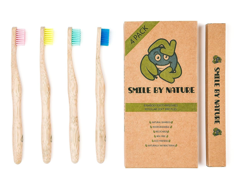 Cepillos de dientes de bambú de Smile by Nature | Cepillo de ...