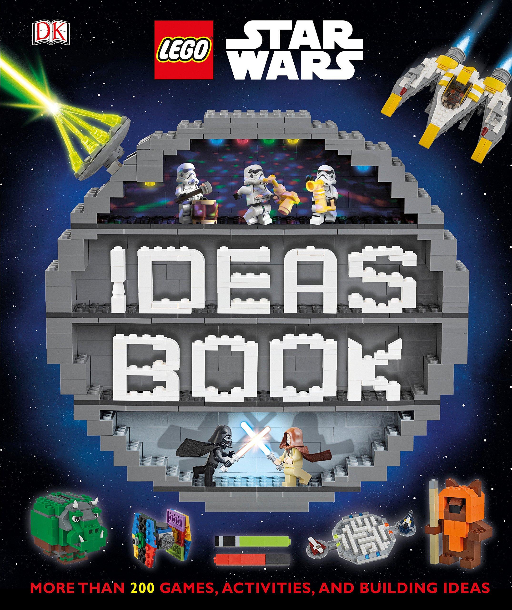 Lego Star Wars Ideas Book More Than 200 Games Activities And Building Ideas Dk Dowsett Elizabeth Dolan Hannah 9781465467058 Amazon Com Books