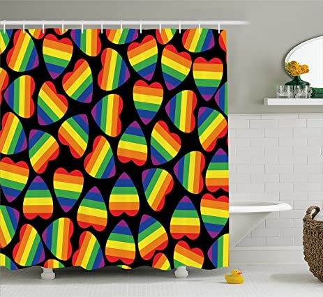 gay household accessories shower curtains