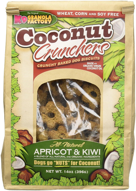 K9 Granola Factory albicocca e kiwi Coconut Crunchers