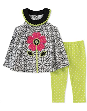 cb55a5edf Kids Headquarters Girls' Tunic Set-Capsleeves