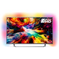 "TELEVISOR LED ULTRAPLANO PHILIPS 55PUS7303-55""/139CM - UHD 4K 3840X2160 - HRD+ - 20W - DVB-T/T2/T2-HD/C/S/S2 - Smart TV - WiFi - 4XHDMI - 2XUSB"