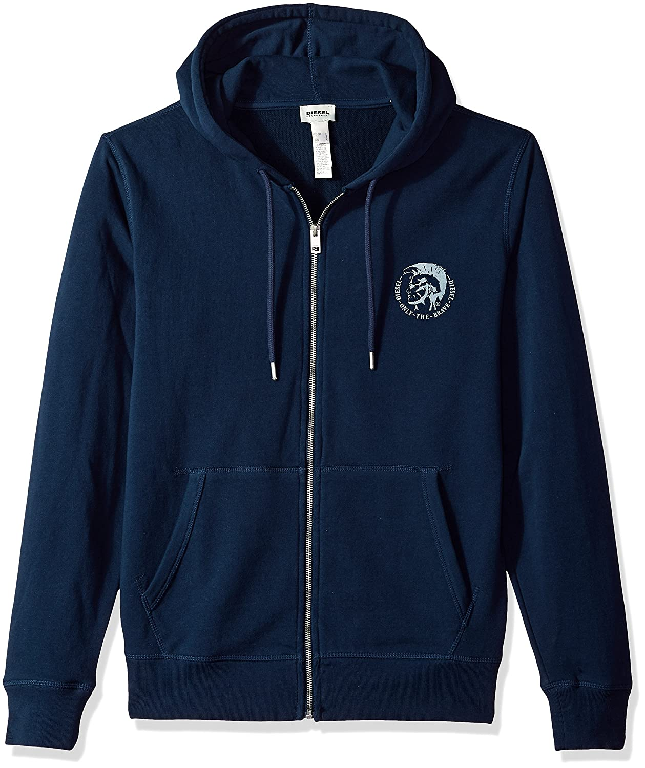 Diesel Men's Brandon Full Zip Hoodies 00se8m0cand