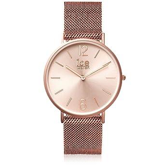 ICE-Watch - 012710 - City Milanese - Cadran Or - Bracelet Acier Rose ... 53ea9e9a4065