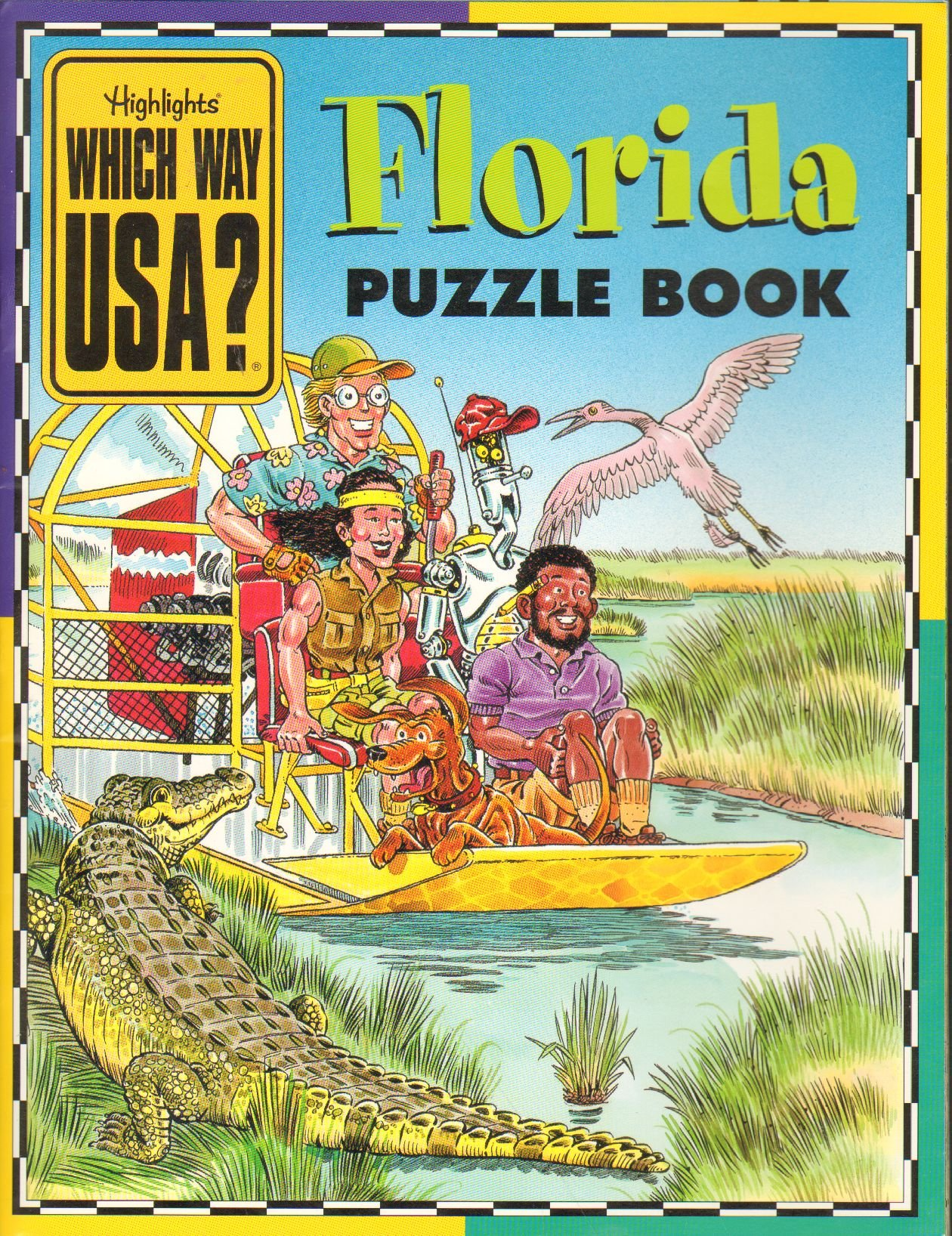 Which Way Florida Puzzle Book product image