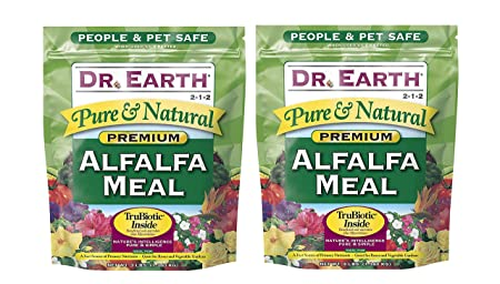 Dr. Earth Pure Natural Alfalfa Meal 3 lb undl f w