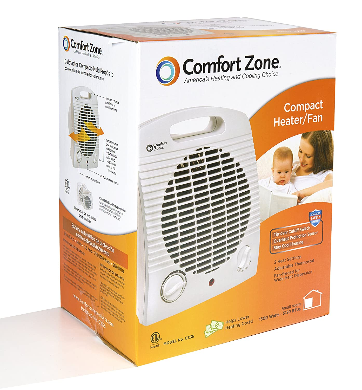 Amazon.com: Comfort Zone Mini personal heater: Home & Kitchen