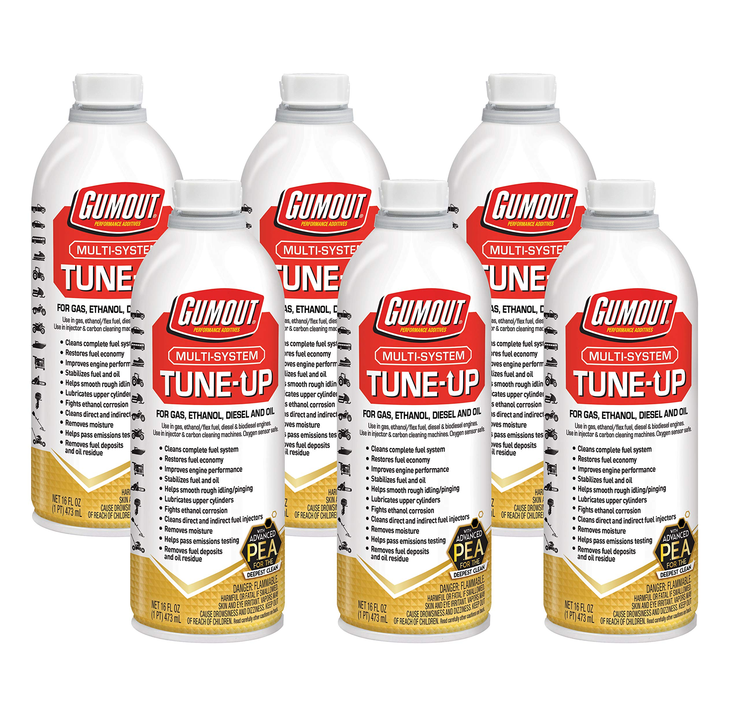 Gumout 510011 Multi-System Tune-Up, 16 oz. (Pack of 6) by Gumout
