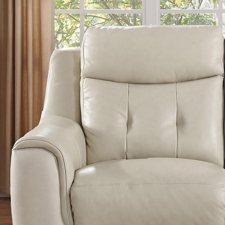Amazon Amax Leather Paramount Power Reclining Sofa three pc