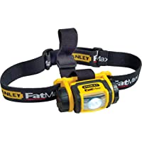 Stanley FMHT0-70-767 Head Torch Flashlight, Yellow and Black