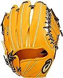 asics(アシックス) 野球 グローブ 硬式 内野手用 右投げ ゴールドステージ スピードアクセル サイズ6 BGH8UK