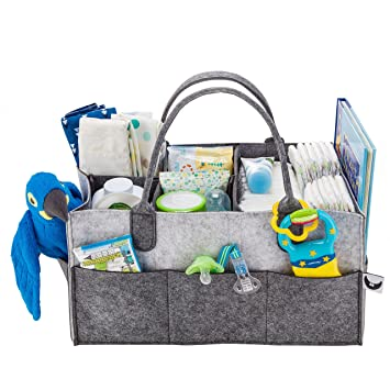amazon com nursery diaper caddy organizer gift registry for baby