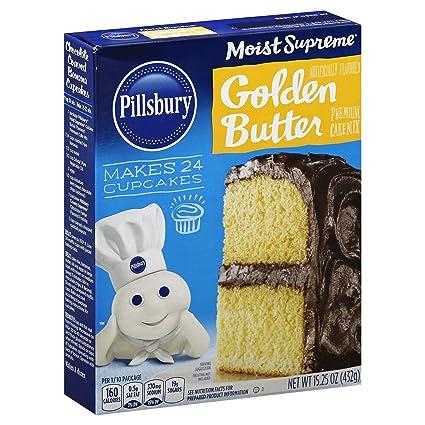 Pillsbury Moist Supreme, Golden Butter Recipe Cake Mix ...
