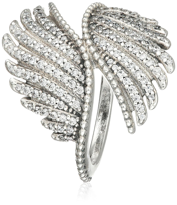 3da1598f6 Pandora Majestic Feathers Ring in 925 Sterling Silver U.S. Size: 5.5 Eur  Size: 50, 190960CZ-50