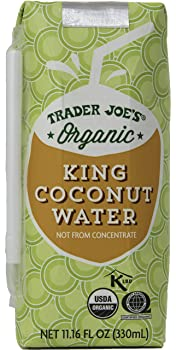 Trader Joe's Organic Coconut Water Juice Boxes