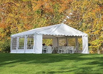 ShelterLogic 25920 Party Tent u0026 Enclosure Kit 20x20 ft / 6x6 mm White & Amazon.com : ShelterLogic 25920 Party Tent u0026 Enclosure Kit 20x20 ...