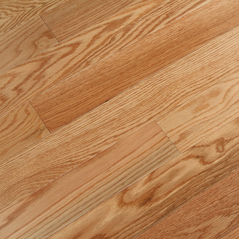 Centurion Red Oak Natural Engineered Hardwood Floor Sample Com