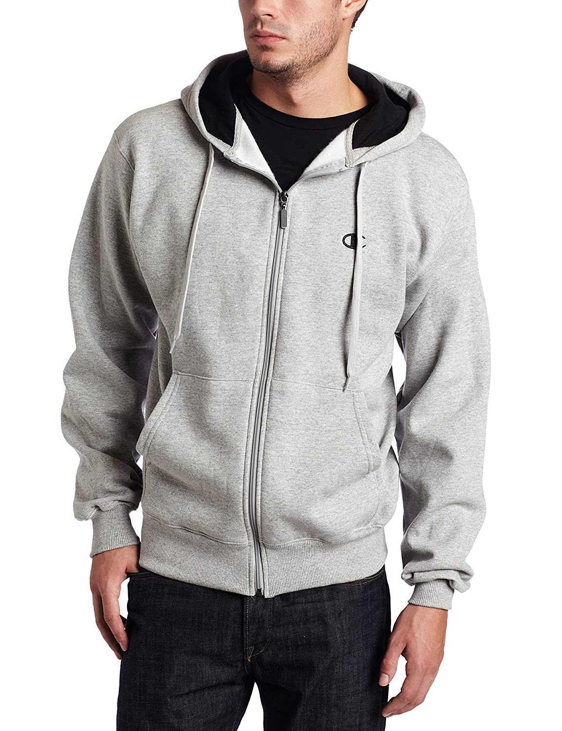 Champion Eco? Fleece Men`s Full-Zip Hoodie - Best-Seller!
