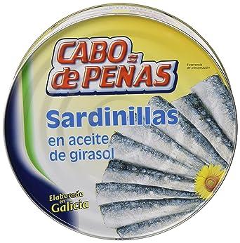 Cabo De Peñas - Sardinillas en Aceite de Girasol, 523 g