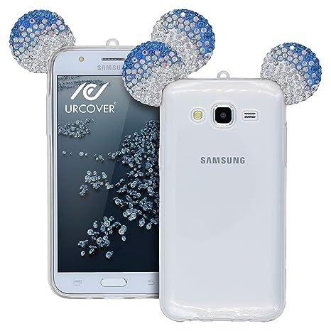 Urcover® Samsung Galaxy J5 Funda [Orejas de Ratón] Silicona ...