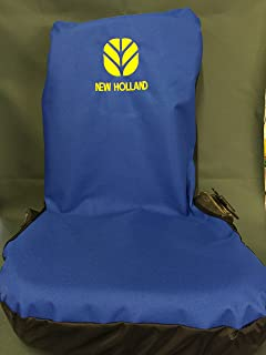 Rhino Heavy Duty Tractor Seat Cover embroidered with New Holland Logo