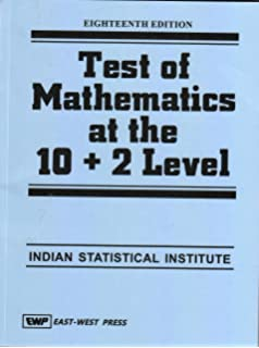 Buy Test of Mathematics at the 10+2 Level 13/e PB Book
