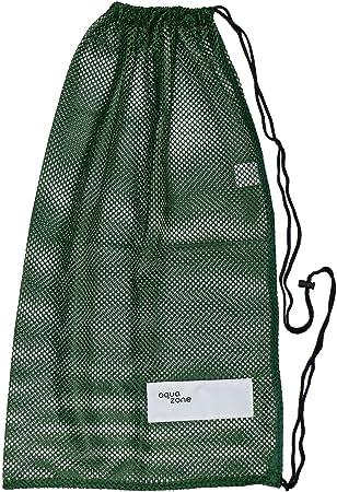 Bolsa de malla con cordón para equipamiento deportivo, para natación, playa, buceo, viajes o gimnasio