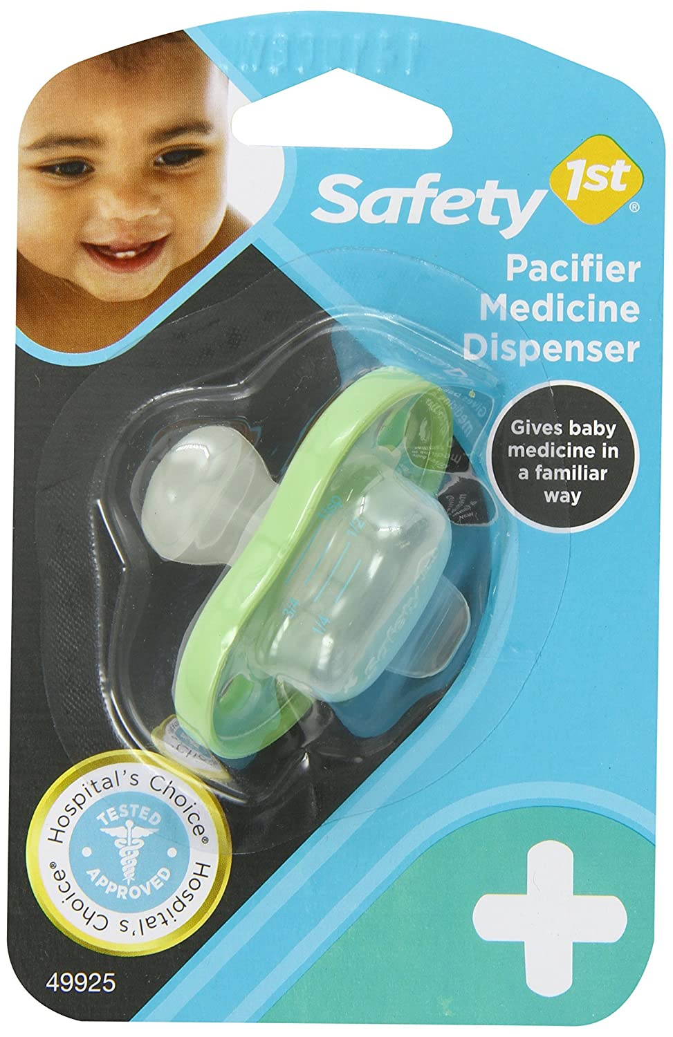 Amazon.com : Chupete Medicina dispensador : Baby