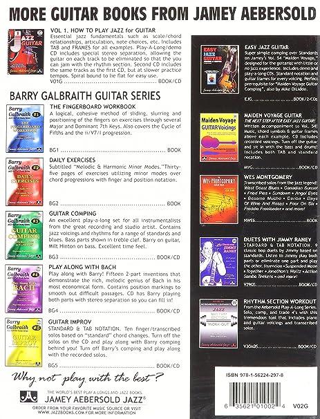 Nothin but Blues for Jazz Guitar - Guitar - BOOK+CD: Amazon.es: Instrumentos musicales