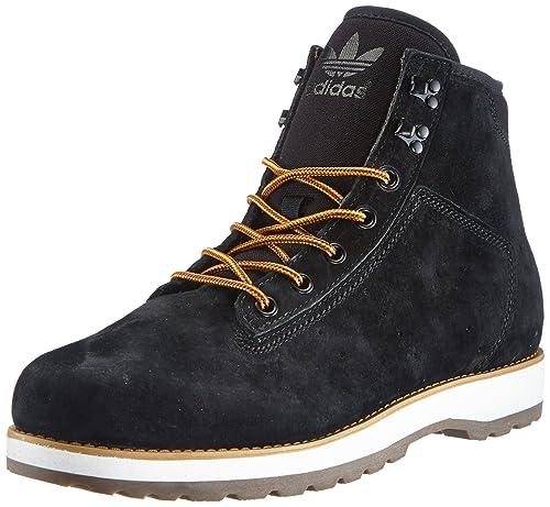 adidas Originals Adi Navvy Boot - Botines desert de cuero hombre, color negro, talla 40 2/3: Amazon.es: Zapatos y complementos