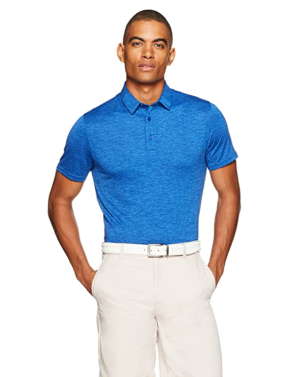 Amazon Essentials Men's Tech Stretch Polo Shirt by Amazon Essentials