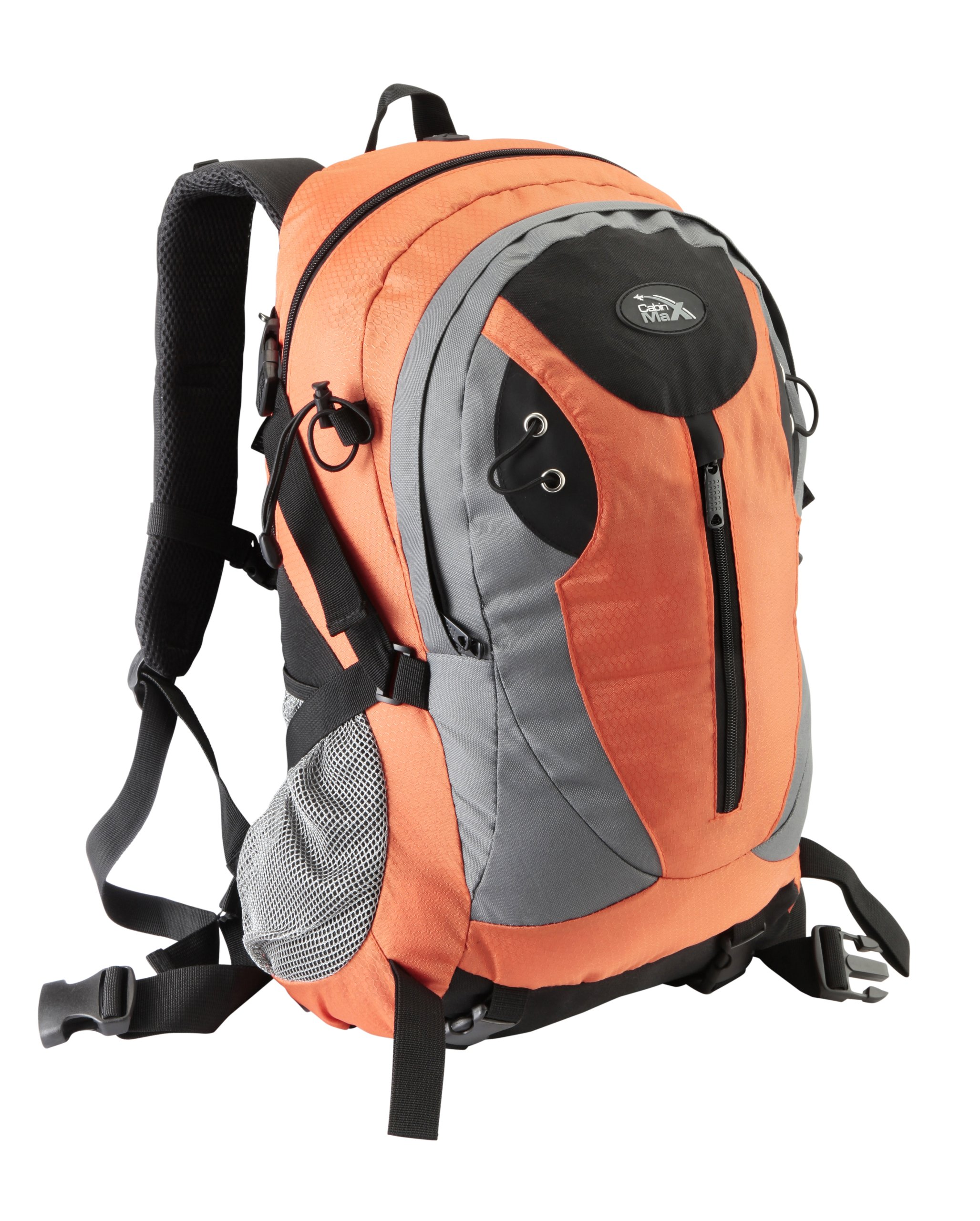 Cabin Max Arena Lightweight Multi-Function Backpack for Travel, Gym, Hiking and Everyday Use (orange)