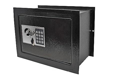 Caja Fuerte de Empotrar Electrónica con Anti Bounce System: Amazon ...