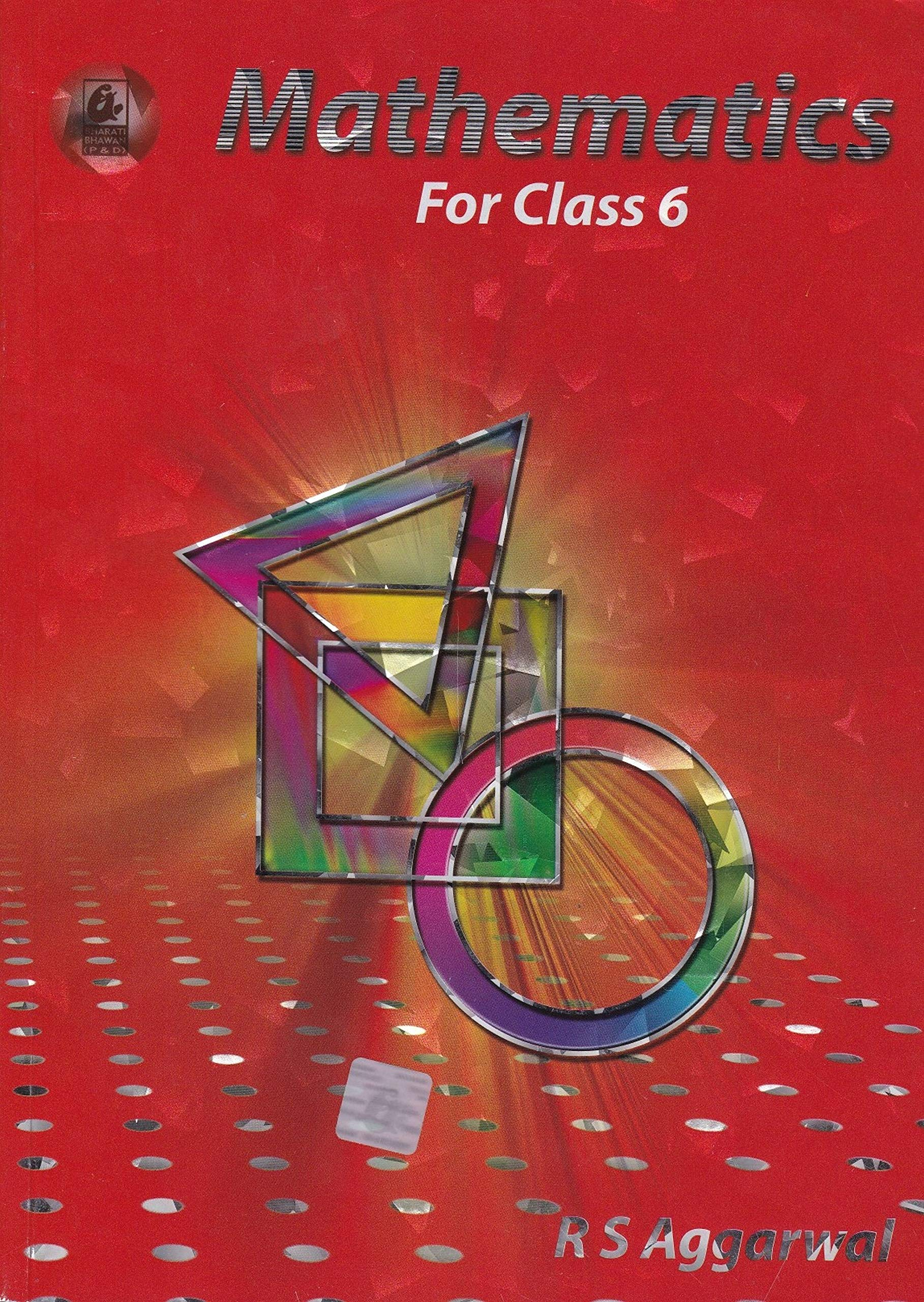 Mathematcs for Class 6 (Mathematics): Amazon in: R S  Aggarwal: Books