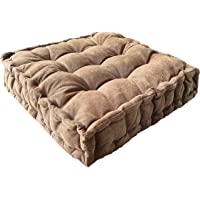 Floor Pillow,Square Meditation Cushion Floor Seating for Adults,Oversized Tufted seat Cushion Reading Nook for Kids…