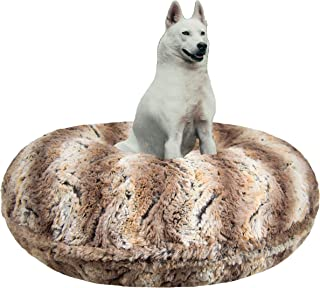 product image for BESSIE AND BARNIE Signature Simba Luxury Extra Plush Faux Fur Bagel Pet/Dog Bed (Multiple Sizes)