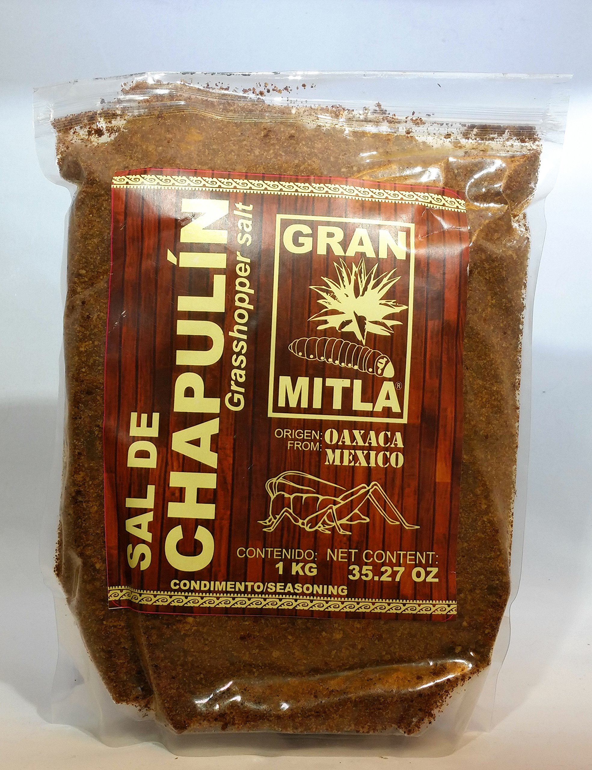 Gran Mitla Sal de Chapulin 1 Kilogram Bag (2.20 Pounds)
